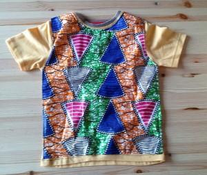 Camiseta niño africana
