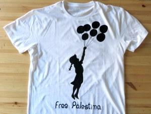 Malabona Banksy Palestina Camiseta