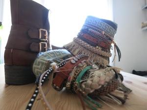 accesorio botas